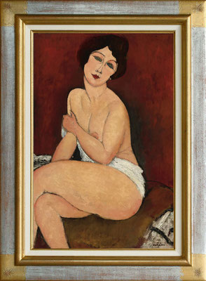 Modigliani, la belle Romaine