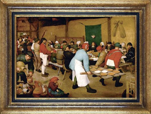 Brueghel, repas de noce