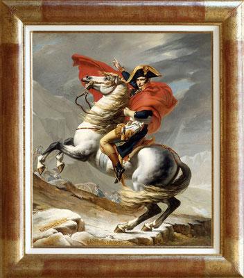 David, Napoléon franchissant le St Bernard le 1er mai 1800