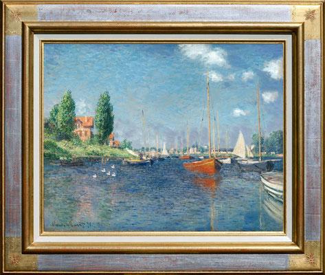 Monet, regates à Argenteuil
