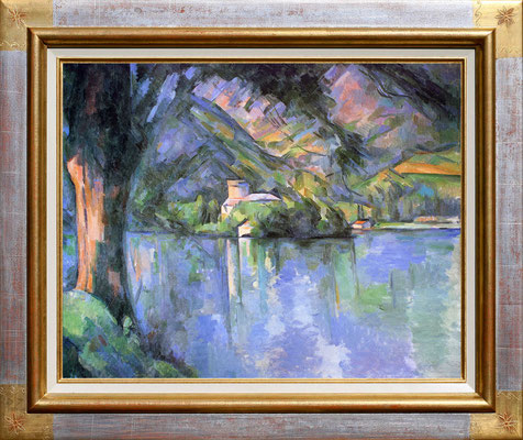 Cezanne, le lac d'Annecy