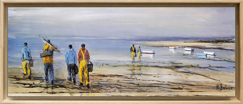 Dubois, départ pour la pêche