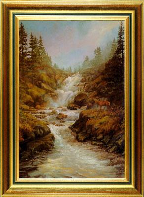 Halstead, la cascade