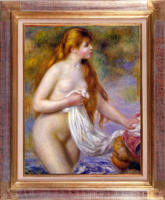 Renoir, la baigneuse aux cheveux longs