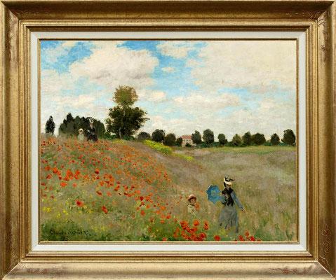 Monet, les coquelicots 1873