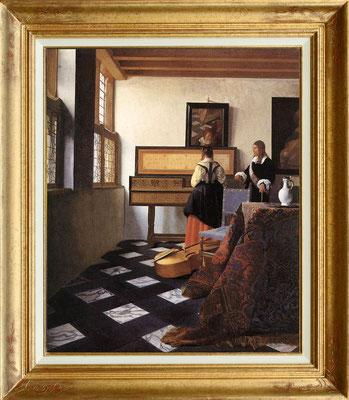 Vermeer, la leçon de musique
