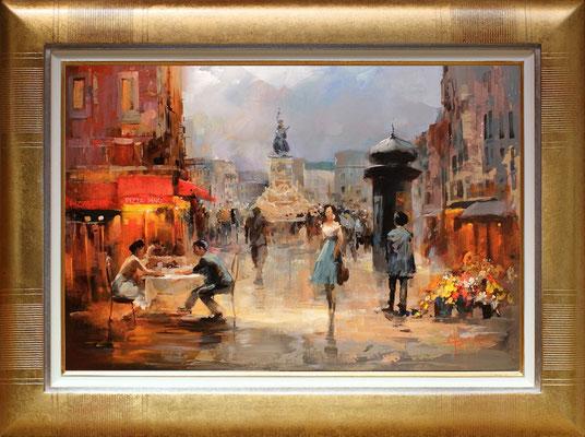 Haenraets, la rue commerçante