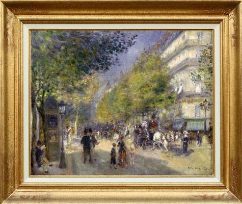 Renoir, les grands Boulevards