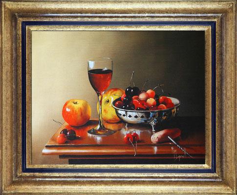 Dipnall, cerises et vin