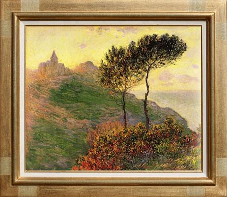 Monet, l'église de Varangéville
