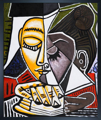 Picasso, portrait de femme