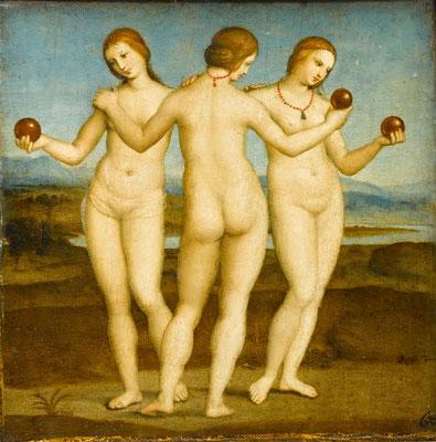 Raphael, les trois graces