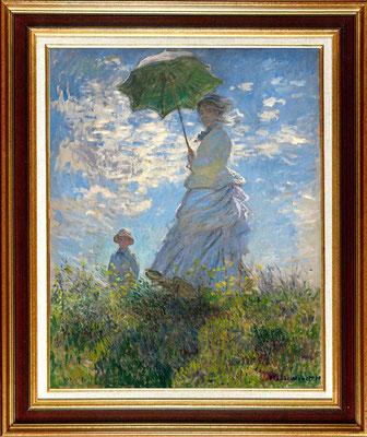 """Monet """"femme à l'ombrelle"""""""