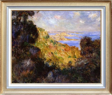 Renoir, la baie de Salerne