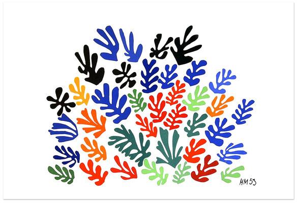 Matisse, la gerbe