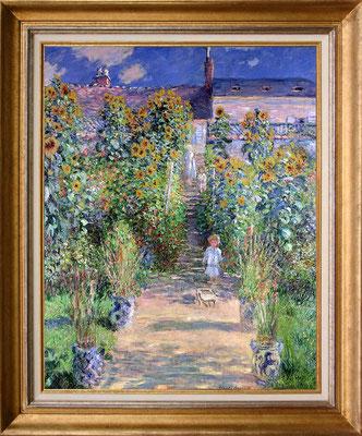 Monet, jardin de l'artiste à Vethueil