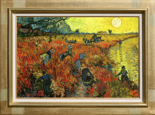 Van Gogh, les vendanges