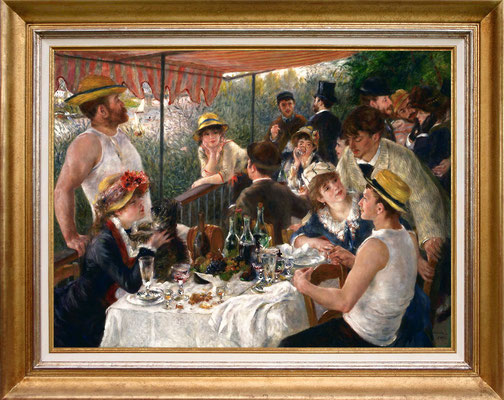 Renoir, le déjeuner des canotiers