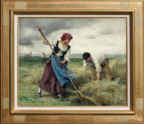 Dupré, la récolte des foins