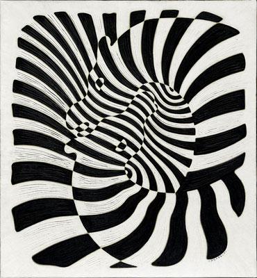 Vasarely, zebres