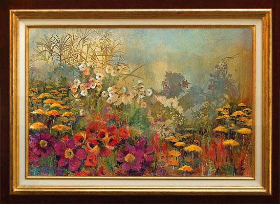 Georgie, wild garden