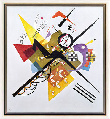 Kandinsky, auf weiss