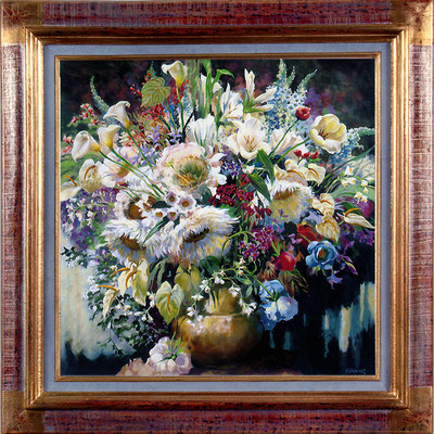 Horning, bouquet