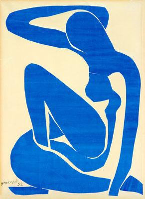 Matisse, nu bleu 1952