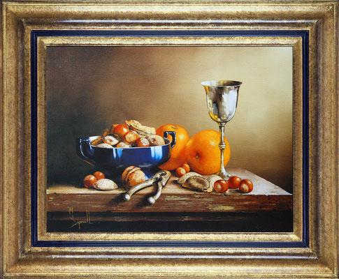 Dipnall, noix et oranges