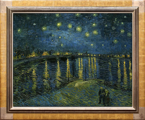 Van Gogh, nuit étoilée à Arles