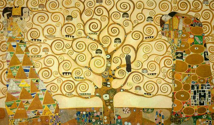 Klimt, arbre de vie - 1909