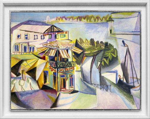 Picasso, port de Royan