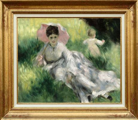 Renoir, femme à l'ombrelle