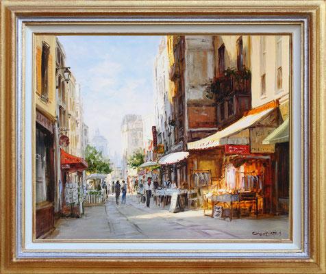 Bates, marché parisien
