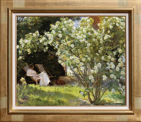 Kroyer, le jardin des roses