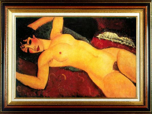 Modigliani, nu aux bras ouvert