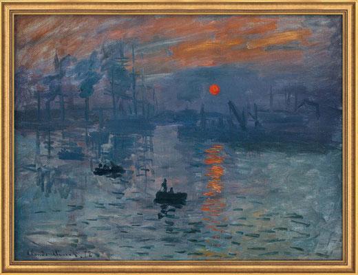 Monet, impression soleil levant