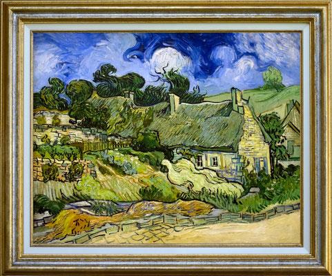 Van Gogh, cottage à Auvers sur Oise