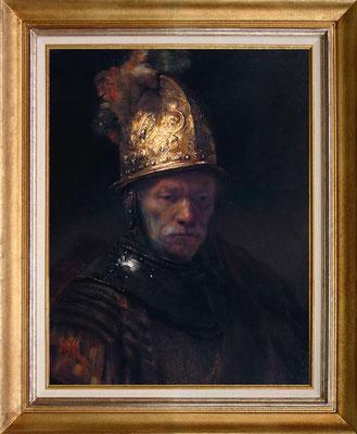 Rembrandt, l'homme au casque d'or