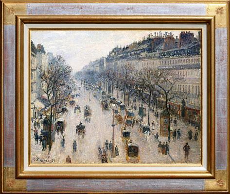 """Pissaro """"Boulevard Montmartre"""""""