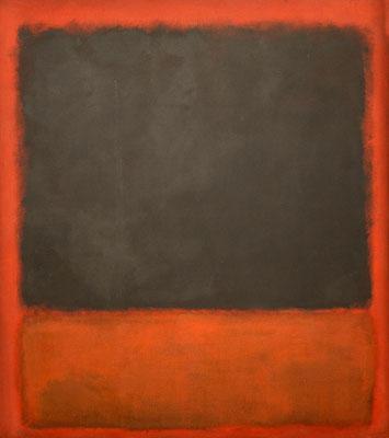Rotkho, black on red 1964