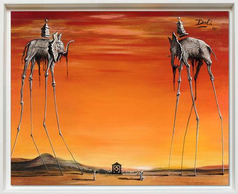 Dali, les éléphants