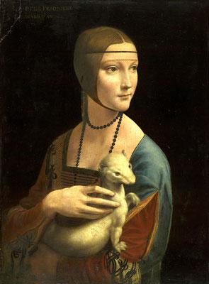 De Vinci, la dame à l'hermine