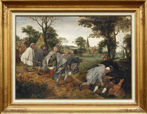 Brueghel, la parabole des aveugles