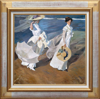 Sorolla, strolling along the seashore