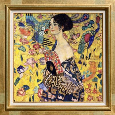Klimt, la femme à l'éventail
