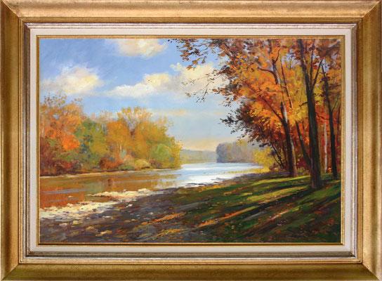 Beckmann, shadow lake I