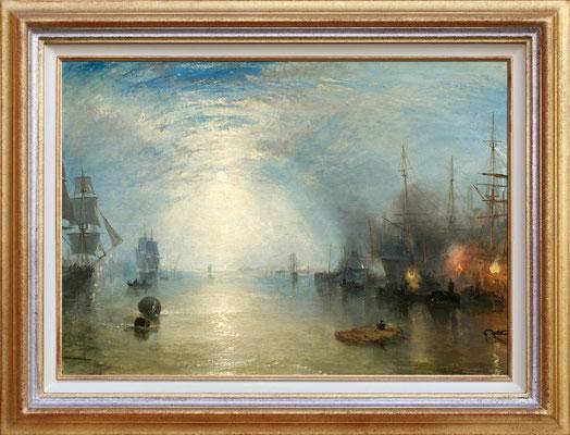 Turner, soulevement au clair de lune