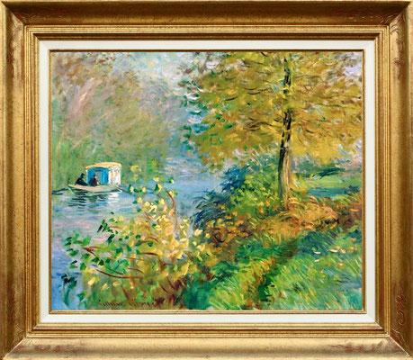 Monet, le bateau lavoir