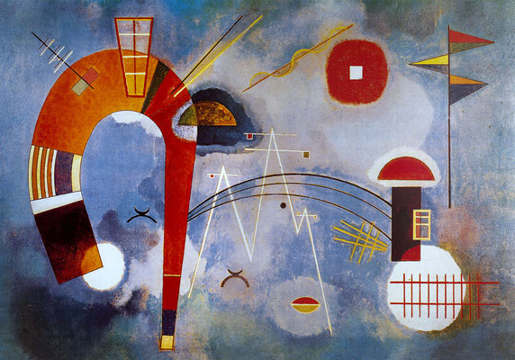 Kandinsky, rond et pointu